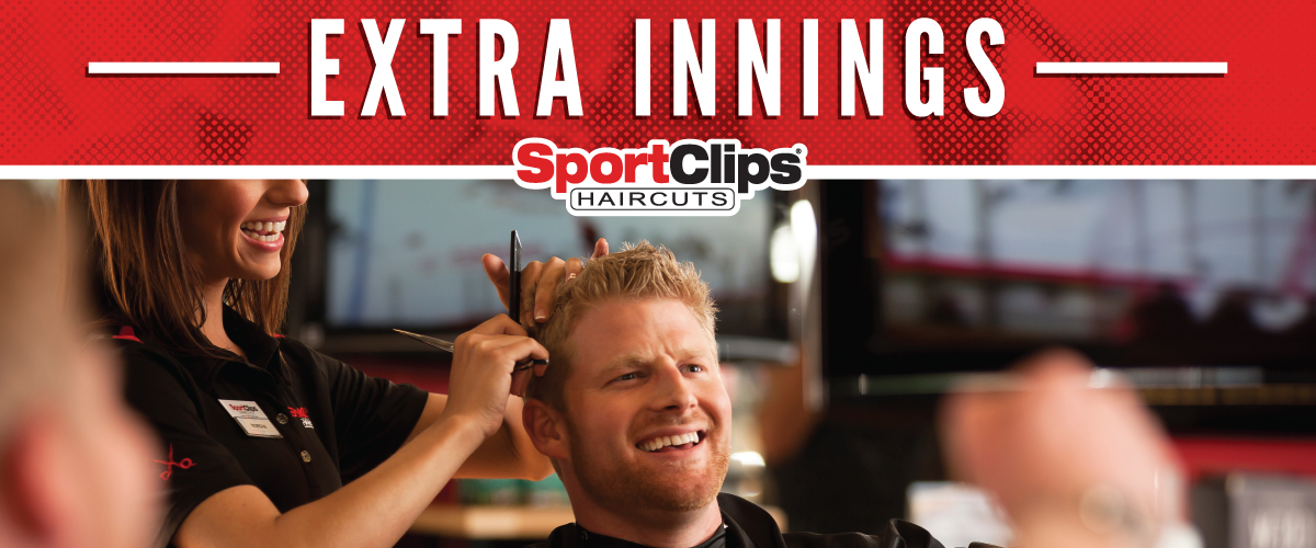 The Sport Clips Haircuts of Burbank Extra Innings Offerings