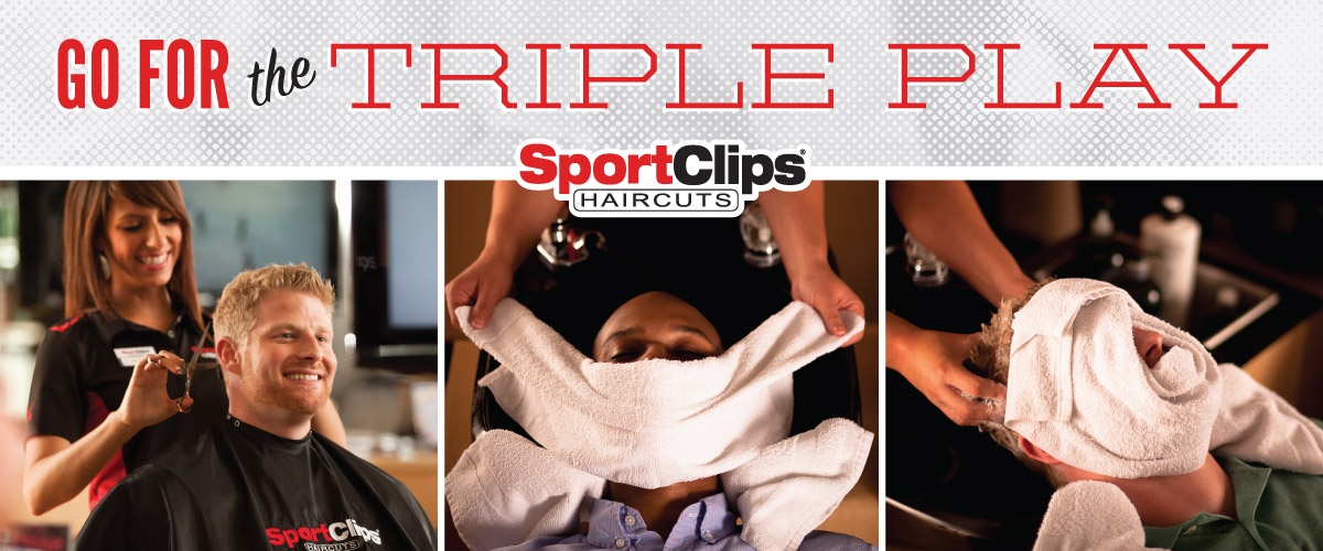 The Sport Clips Haircuts of Burbank Triple Play