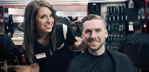Sport Clips Haircuts of Burbank​ stylist hair cut